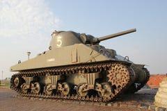 El tanque de Sherman Fotos de archivo