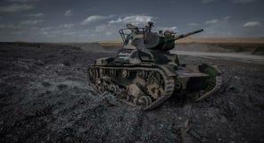 El tanque de Unión Soviética de la guerra mundial 2