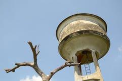 El tanque del abastecimiento de agua Imagen de archivo libre de regalías