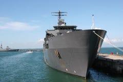 El tanque del aterrizaje de la marina Foto de archivo libre de regalías
