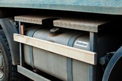 El tanque del biodiesel Fotos de archivo libres de regalías