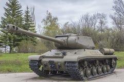 El tanque del ejército soviético de la Segunda Guerra Mundial Imagen de archivo libre de regalías