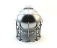 El tanque del LPG del almacenamiento aislado Fotos de archivo libres de regalías