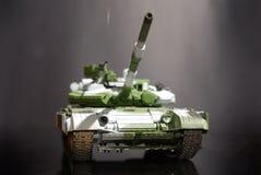 El tanque del modelo de escala Foto de archivo