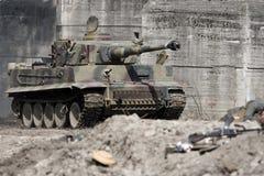 El tanque del tigre Fotografía de archivo
