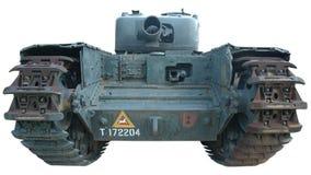 El tanque en color Foto de archivo