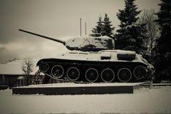 El tanque en un área Fotografía de archivo
