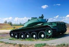 El tanque en un ataque Foto de archivo libre de regalías
