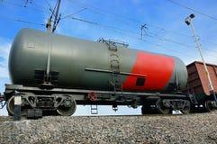 El tanque ferroviario Fotos de archivo libres de regalías