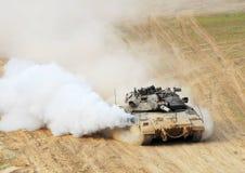 El tanque israelí de la CA - Merkava fotografía de archivo