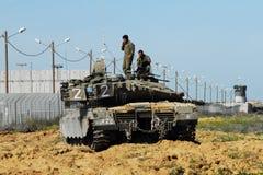 El tanque israelí de la CA - Merkava fotos de archivo libres de regalías