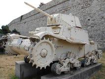 El tanque italiano viejo, Carro Armato Imagen de archivo libre de regalías