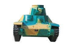 El tanque japonés del vintage de Segunda Guerra Mundial Imágenes de archivo libres de regalías