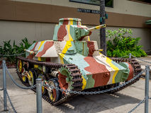 El tanque ligero japonés Fotos de archivo