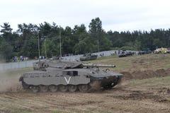 El tanque Merkava fotografía de archivo libre de regalías