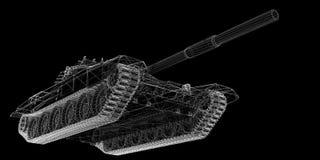 El tanque militar Foto de archivo libre de regalías
