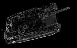 El tanque militar Foto de archivo
