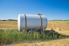 El tanque oxidado Imágenes de archivo libres de regalías