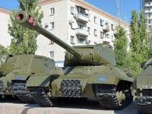El tanque pesado soviético IS-2 Imágenes de archivo libres de regalías