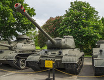 El tanque pesado soviético IS2 Imágenes de archivo libres de regalías