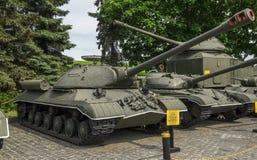 El tanque pesado soviético IS3 Fotografía de archivo libre de regalías