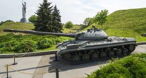 El tanque pesado soviético de T10 IS8 Imagen de archivo libre de regalías