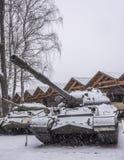 El tanque pesado soviético T-10M (año de la producción 1957-1966) fotos de archivo libres de regalías