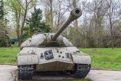 El tanque principal del ejército soviético de la Segunda Guerra Mundial Imagen de archivo libre de regalías
