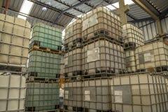 El tanque químico fotografía de archivo libre de regalías