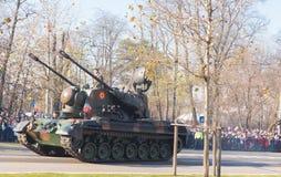 El tanque rumano imagen de archivo libre de regalías
