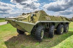 El tanque ruso BRT-60 Foto de archivo libre de regalías