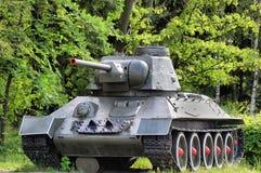 El tanque soviético Fotografía de archivo libre de regalías