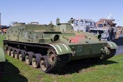 El tanque soviético de épocas de la Segunda Guerra Mundial Imagenes de archivo