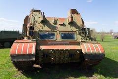 El tanque soviético de épocas de la Segunda Guerra Mundial Imagen de archivo libre de regalías