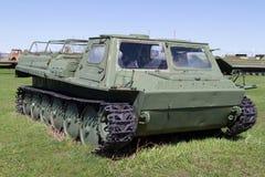El tanque soviético de épocas de la Segunda Guerra Mundial Fotografía de archivo
