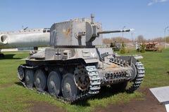 El tanque soviético de épocas de la Segunda Guerra Mundial Fotos de archivo