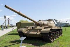El tanque soviético de épocas de la Segunda Guerra Mundial Foto de archivo