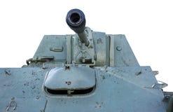 El tanque soviético de período de la Segunda Guerra Mundial Foto de archivo