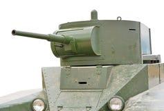 El tanque soviético de período de la Segunda Guerra Mundial Imagen de archivo libre de regalías