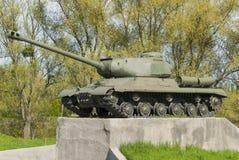 El tanque soviético T 34 Imagen de archivo libre de regalías