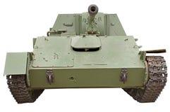 El tanque soviético viejo Imagenes de archivo
