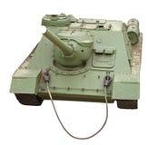 El tanque soviético viejo Fotografía de archivo