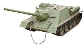 El tanque soviético viejo Foto de archivo libre de regalías