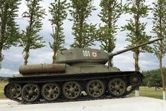 El tanque T34 Imagen de archivo libre de regalías