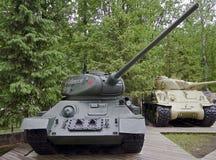 El tanque T-34 (1) Fotografía de archivo libre de regalías
