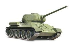 El tanque T-34 Imagen de archivo libre de regalías