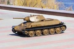 El tanque T-34 fotografía de archivo