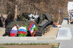 El tanque T-34 fotos de archivo libres de regalías