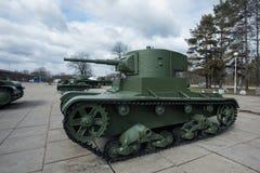 El tanque T-26 Foto de archivo