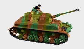 El tanque T-4 imagen de archivo